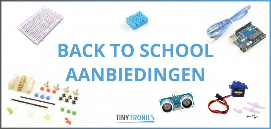 Back to school aanbiedingen