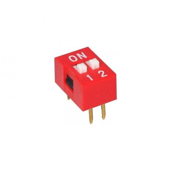 DIP Switch - 2 Posities