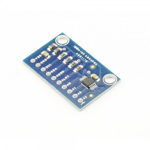B-STOCK - ADS1115 (ADS1015) ADC I2C Module - see description