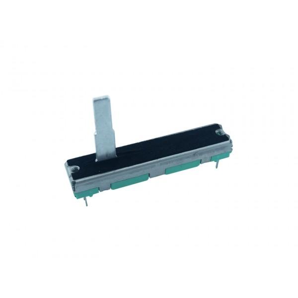 10kΩ Slide potmeter - 2 Kanalen - 45mm