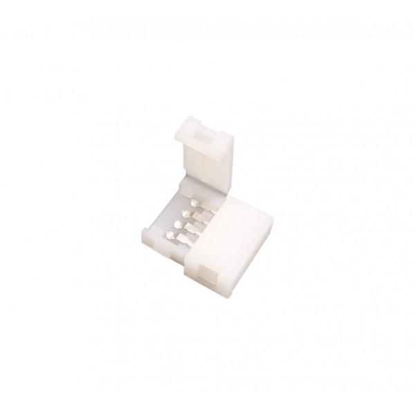 LED Strip Connector - 4p 10mm - Standaard RGB-WS2813-WS2815 - 10 stuks