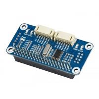 Waveshare Seriële Uitbreiding HAT - 2 UART Kanalen en 8 GPIOs - voor Raspberry Pi