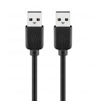 Goobay 93593 USB-A USB-A 2.0 Cable - 1.8m - Black