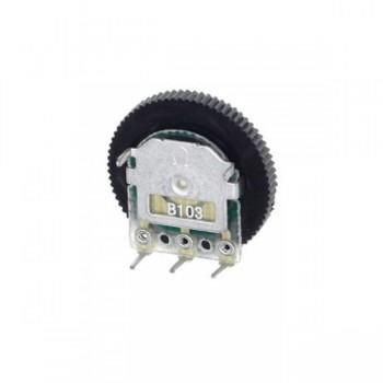 10kΩ Thumbwheel Potentiometer - 1 Channel - Linear