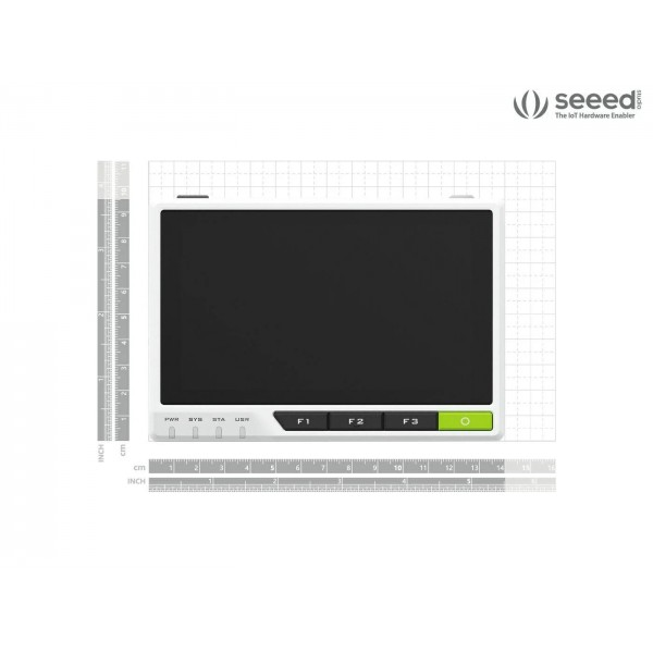 Seeed Studio reTerminal - Raspberry Pi CM4 4GB - 32GB eMMC - 5 inch IPS Display with Capacitive Touch Screen