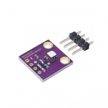 Si7021 Thermometer Temperatuur- en Luchtvochtigheid Sensor