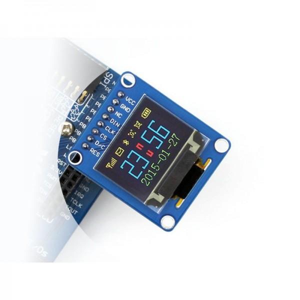 Waveshare 0.95 inch RGB OLED (B) Display - 96*64 Pixels - SPI