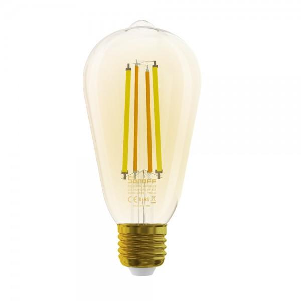 Sonoff B02-F-ST64 - Wi-Fi Smart LED Filament Bulb - Amber - E27