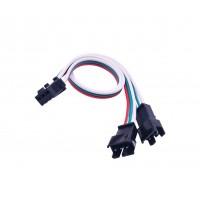 JST-SM 3p Compatible Splitter - 2x20cm