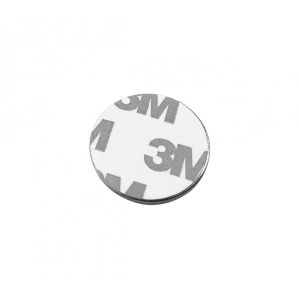 Neodymium Magnet 25x2mm - with Adhesive Strip