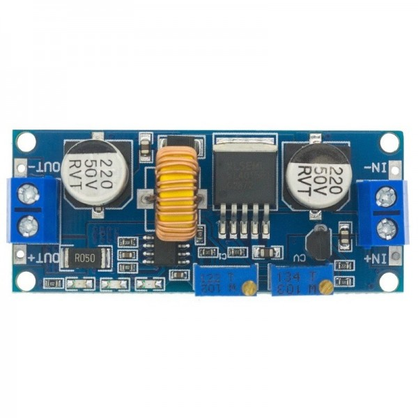 DC-DC Adjustable Step-down Buck Converter XL4015 5A - with Current Limiter