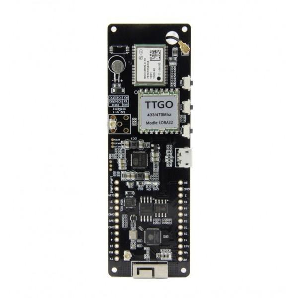 LilyGO TTGO T-Beam - LoRa 433MHz - NEO-M8N GPS - ESP32