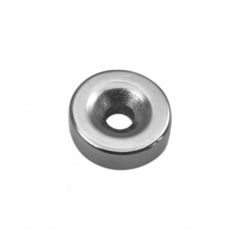 Neodymium Magnet 15x5mm - with 4mm Countersunk Mounting Hole
