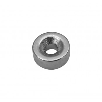 Neodymium Magnet 12x5mm - with 4mm Countersunk Mounting Hole