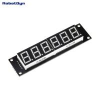 RobotDyn Segment Display Module - 6 Character - Decimal - Green - 74HC595