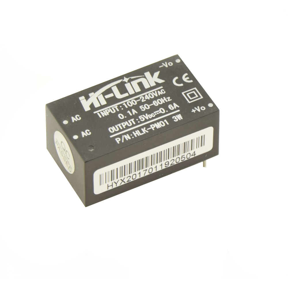 Hi-Link PCB Voeding - 5VDC 0.6A - HLK-PM01