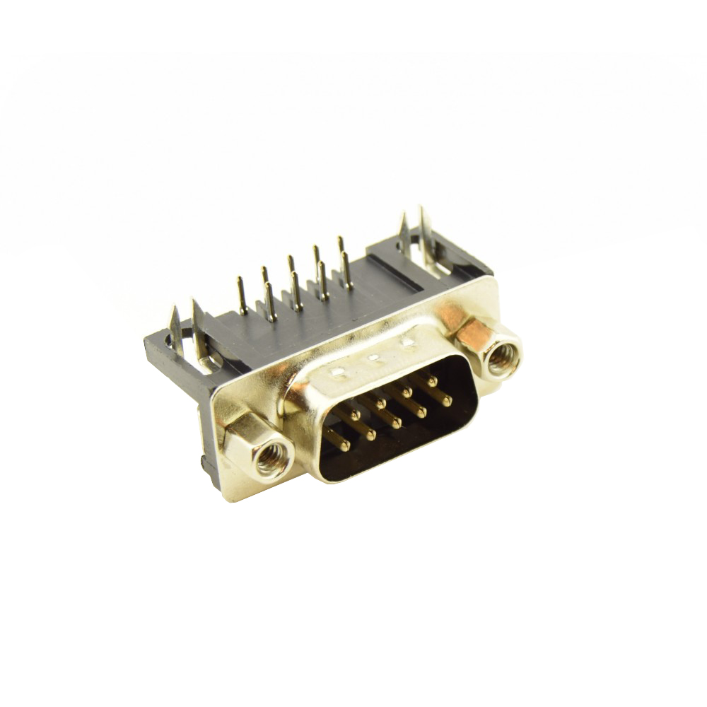DB9 RS232 PCB Connector Male