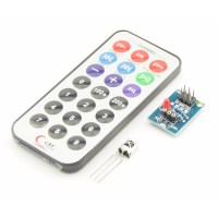 IR sensor module with remote and battery