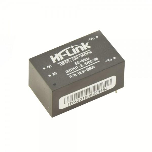 Hi-Link PCB Voeding - 3.3VDC 1.5A - HLK-5M03
