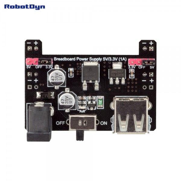 RobotDyn Breadboard power supply 5V en 3.3V