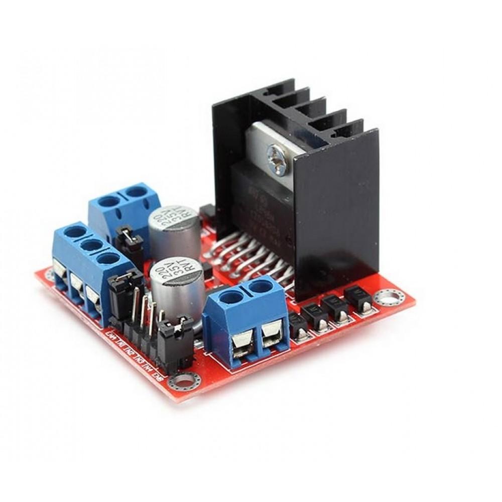 L298n Bipolar Stepper Motor And Dc Controller Control