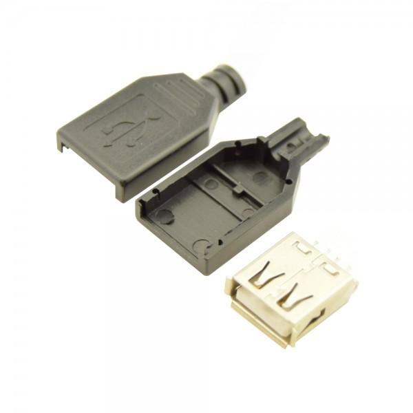 USB-A Connector DIY Female
