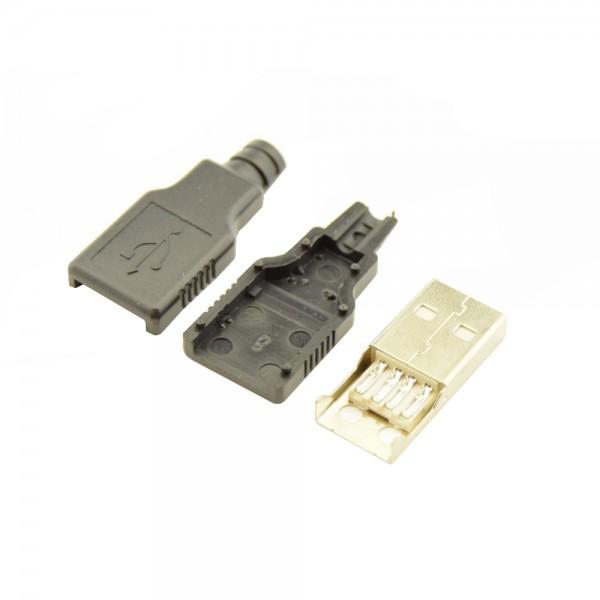USB-A Connector DIY Male