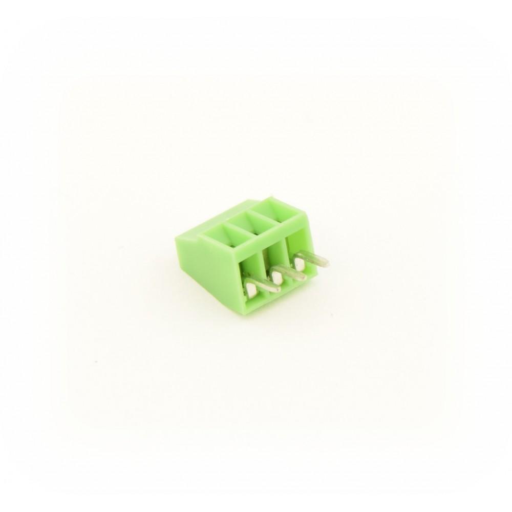 3 Pin Screw Terminal Block Connector 2 54mm Distance - 3P2 54MMTERM