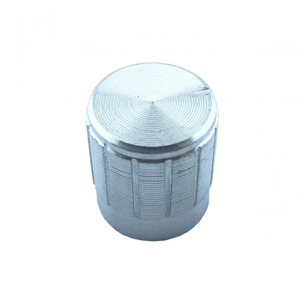 Potmeter Knop Zilver