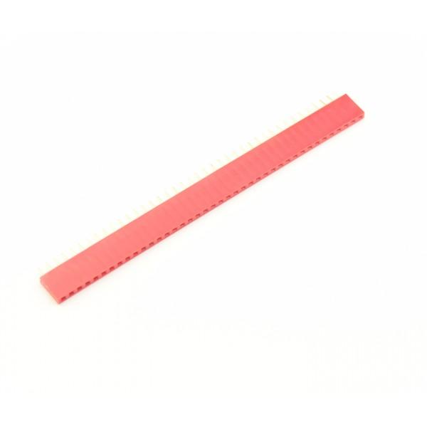 40 Pins header Female - Rood