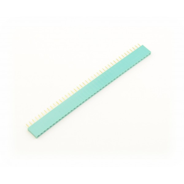 40 Pins header Female - Groen