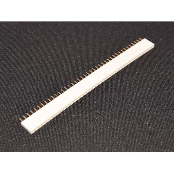 40 Pins header Female - Wit