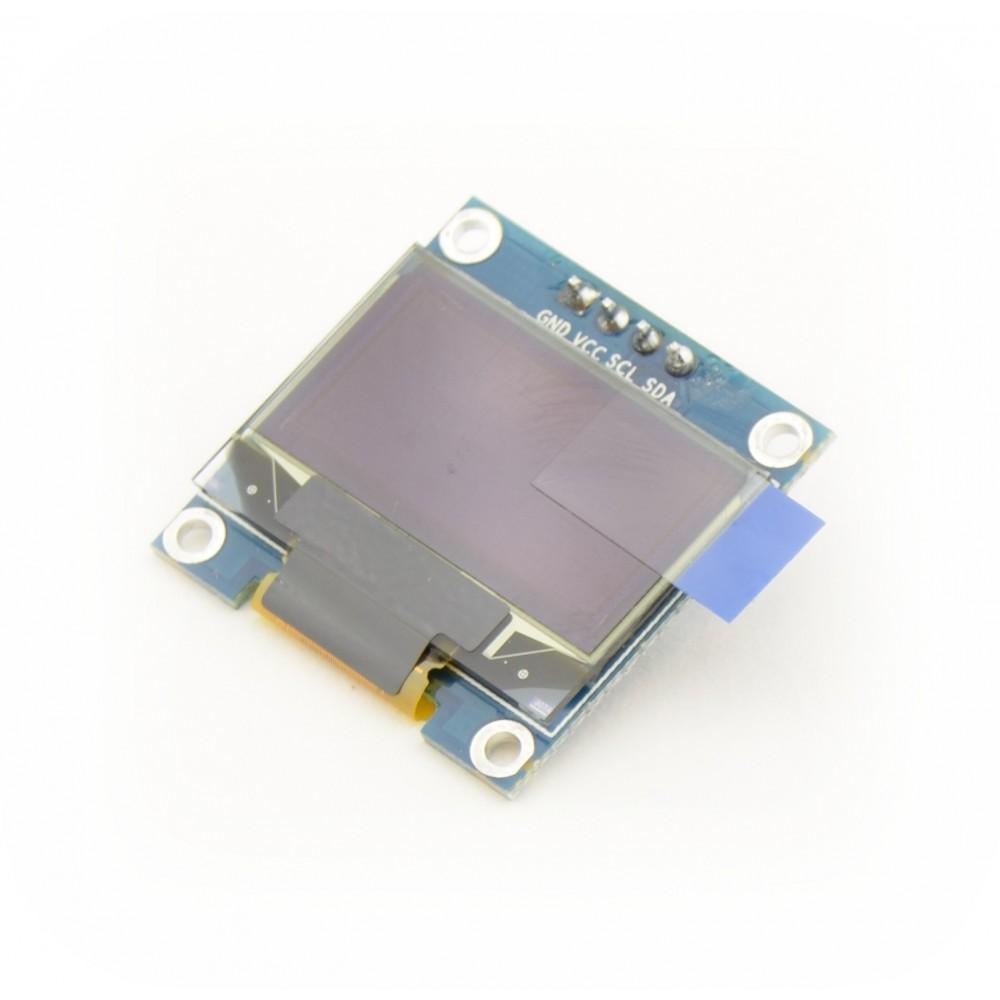 0 96 inch OLED Display 128*64 pixels blue - I2C - I2C0 96OLEDBLUE