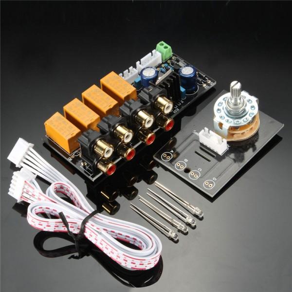 4-Kanaals Audio Selector Bord - Met RCA