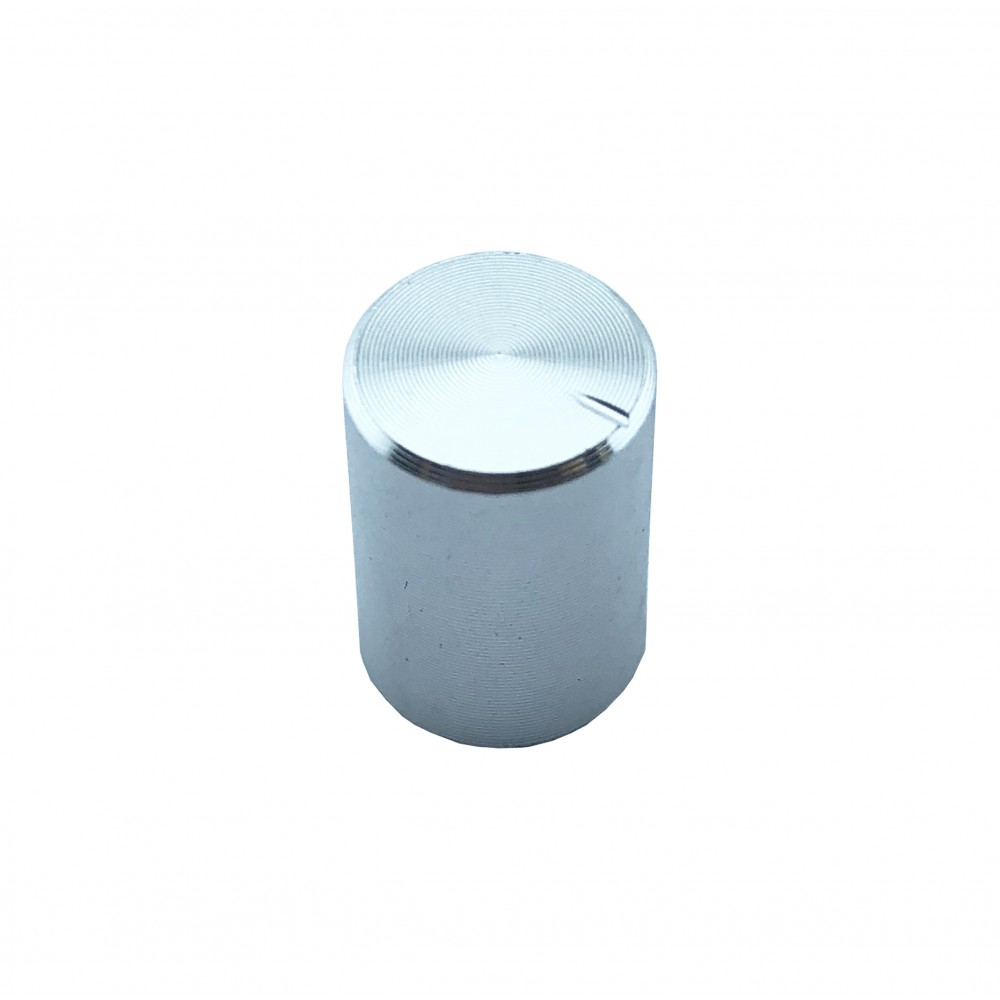 Potentiometer Knob Silver - small
