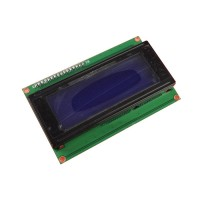 LCD Display 20*4 characters with white text and blue backlight