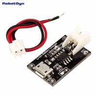 RobotDyn TP4056 Micro-USB Li-ion lader 1A