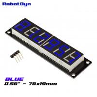 RobotDyn Segment Display Module - 6 Character - Decimal - Blue - TM1637