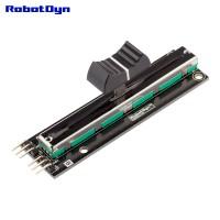 RobotDyn 10kΩ Slide potentiometer module - 75mm