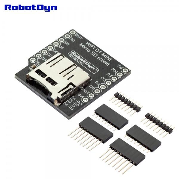 RobotDyn microSD Shield for D1 Mini