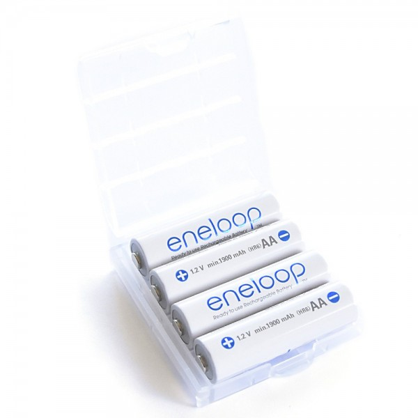 Eneloop - Recharcheable Battery - 4x AA 1900mAh