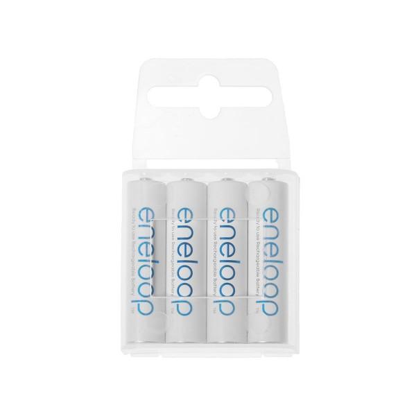 Eneloop - Rechargeable Battery - 4x AAA 750mAh