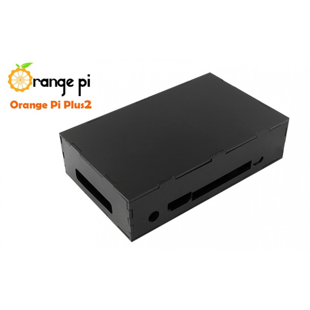 Orange Pi Plus2 Behuizing - Zwart