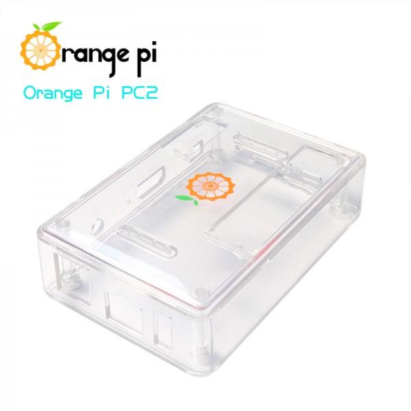 Orange Pi PC-PC2-PC PLUS Enclosure - Transparent