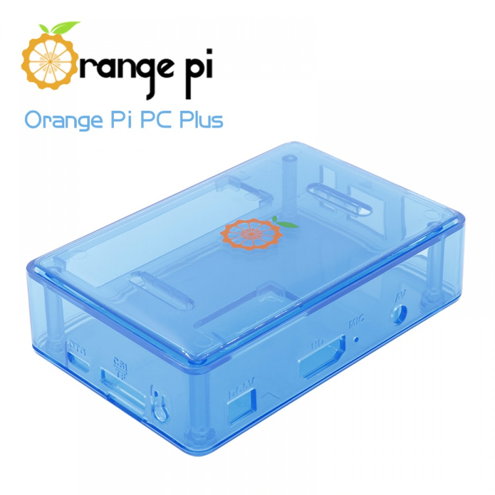 Orange Pi PC-PC2-PC PLUS Behuizing - Blauw