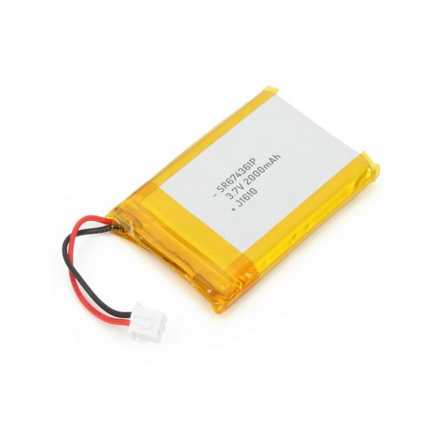 Li-Po Battery 3.7V 2000mAh