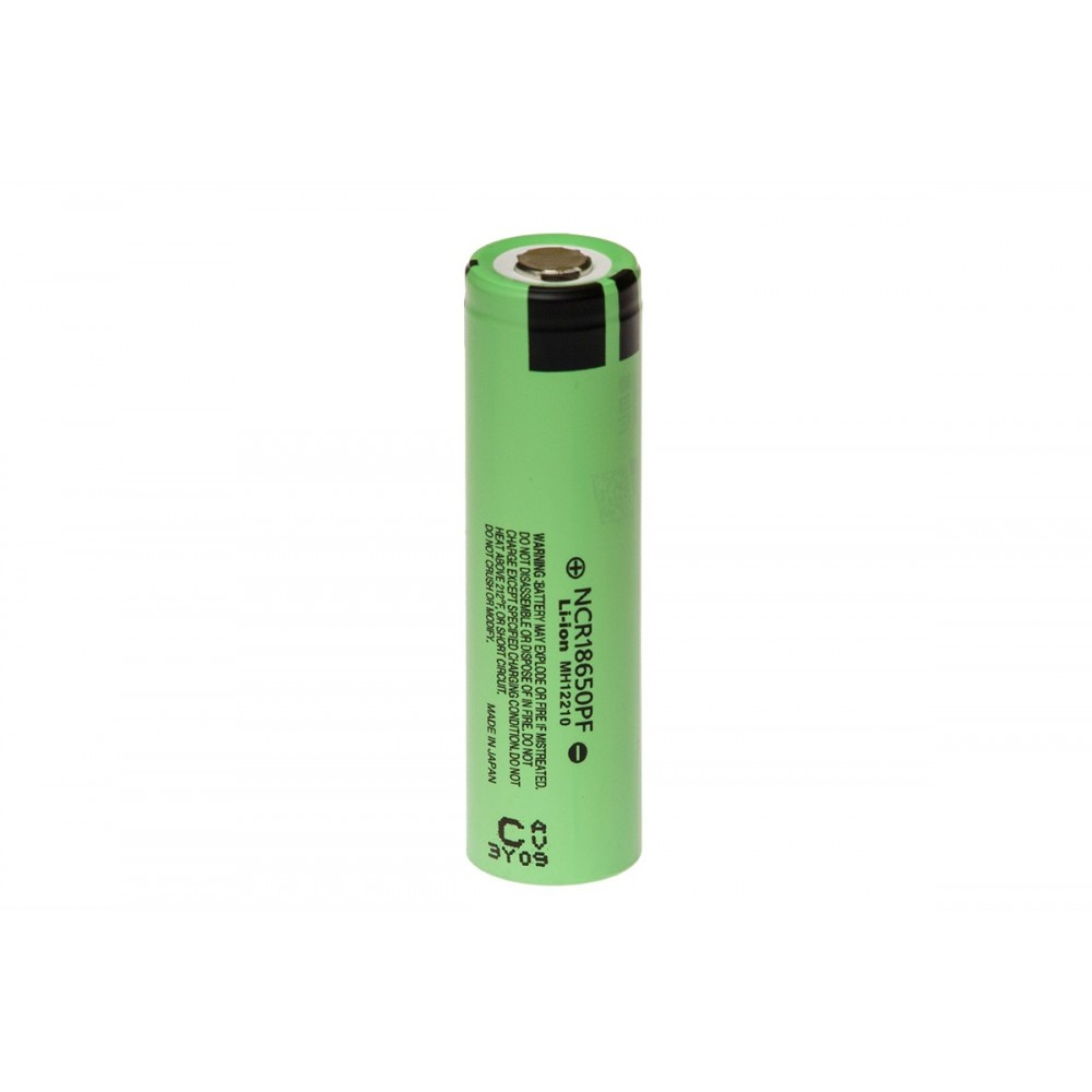 Panasonic 18650 Li-ion Batterij - 2900mAh - 10A - NCR18650PF