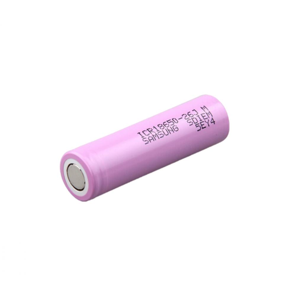 Samsung 18650 Li-ion Battery - 2600mAh- 5.2A - ICR18650-26J