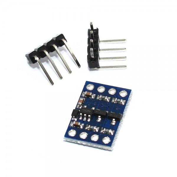 I2C-UART Bi-Directional Logic Level Converter 5V-3.3V 2-channel with supply