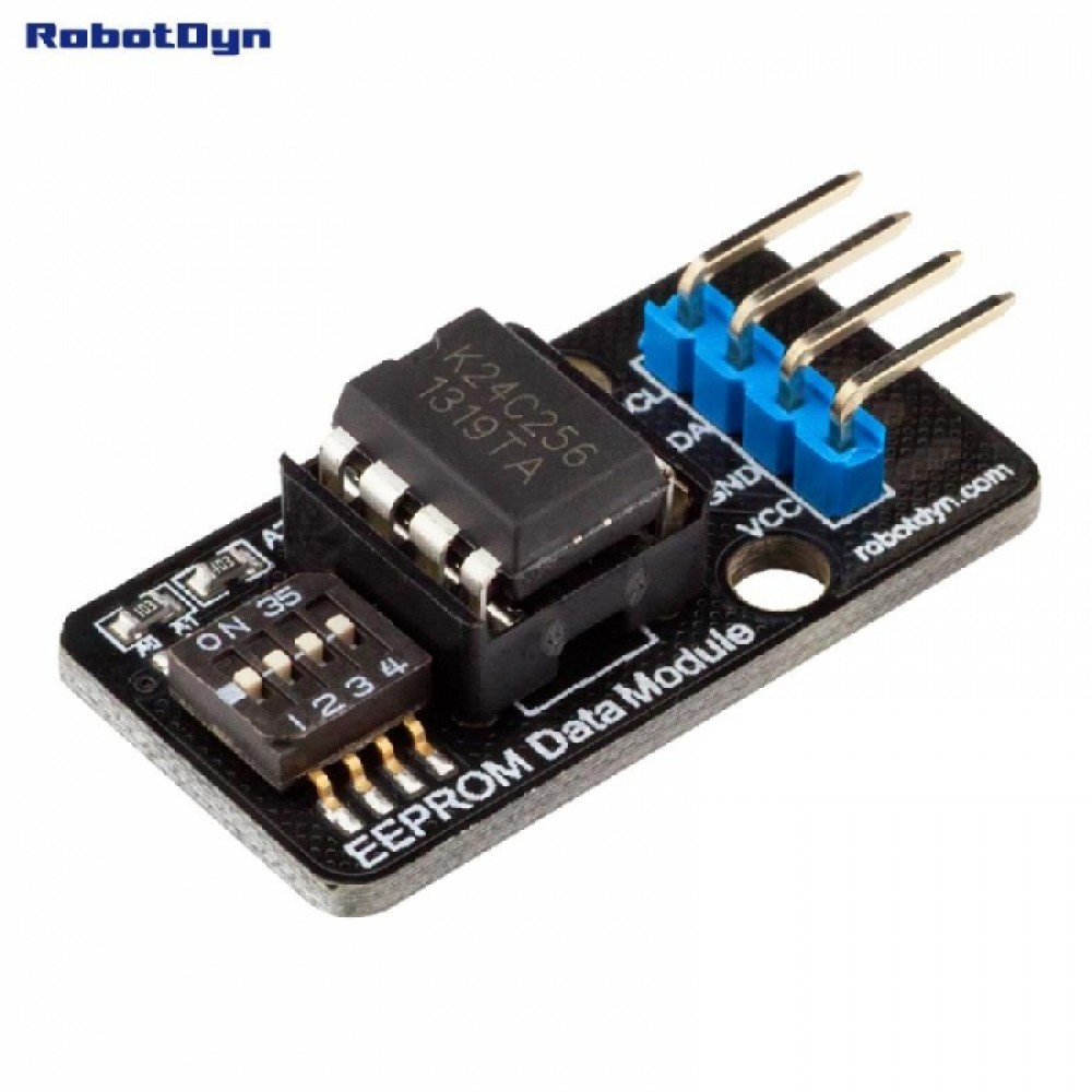 RobotDyn EEPROM Module - 256Kb - AT24C256